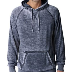 J.America Adult Vintage Zen Hooded Pullover Fleece Thumbnail