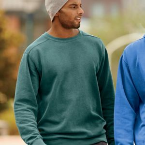 Adult Garment-Dyed Crew Neck Sweatshirt Thumbnail